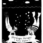 Stranger Danger Distro postcard design